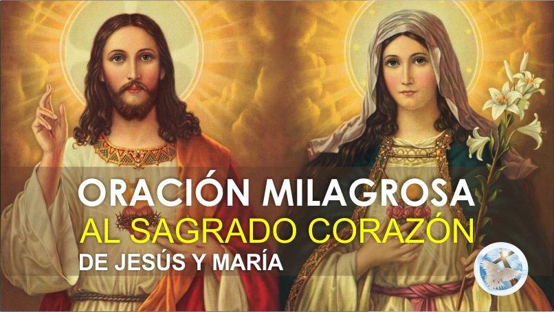 ORACIÓN DE MISERICORDIA A LOS CORAZONES DE JESÚS Y MARÍA / VIDEO