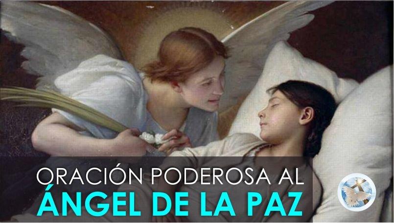 ORACIÓN AL ÁNGEL DE LA PAZ NOCTURNA, PARA PROBLEMAS DIFÍCILES Y URGENTES