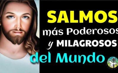 LOS 10 SALMOS MÁS PODEROSOS Y MILAGROSOS DEL MUNDO 7, 23, 27, 34, 40, 51, 91, 121, 127 y 130